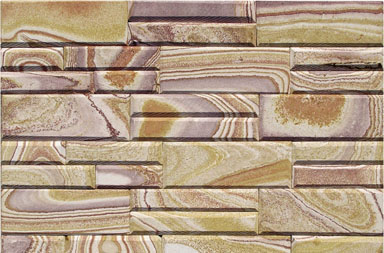 SC1805MW Pink Wooden Stone Slate
