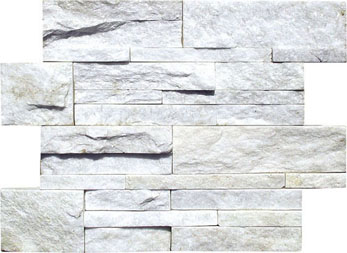 SFA1308W Crystal White  Quartzite Cladding